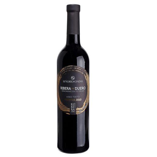 SEÑORIO DE ONDAS vino tinto DO Ribeira del Duero botella 75 cl