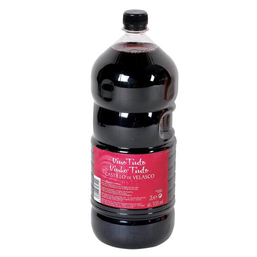 CASTILLO DE VELASCO vino tinto garrafa 2 lt
