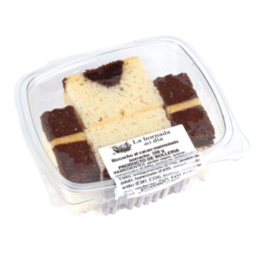 Bizcocho de chocolate marmolado 350 gr