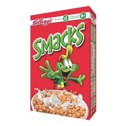 KELLOGS cereales smacks caja 500 gr