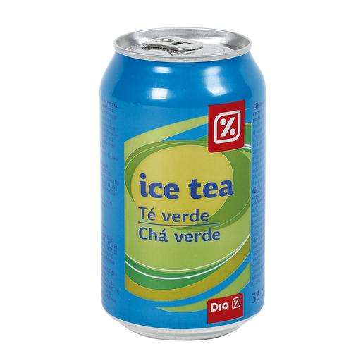 DIA refresco de té verde lata 33 cl