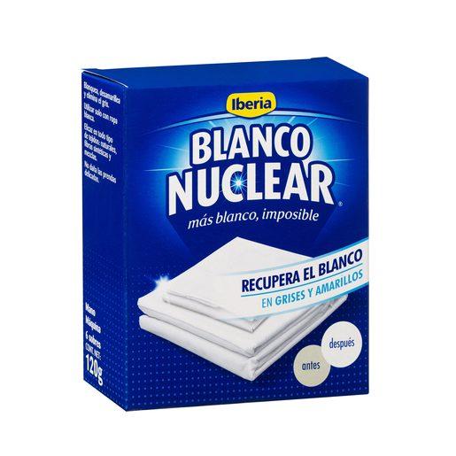IBERIA Blanco nuclear blanqueador todo tipo de tejidos caja 120 gr