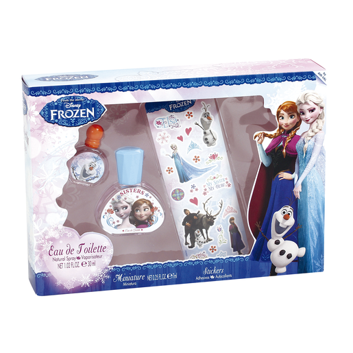 FROZEN lote colonia + edt 7 ml + adhesivos caja 1 ud