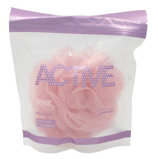 SUAVIPIEL Active esponja de baño sense bolsa 1 ud