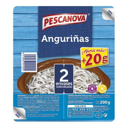 PESCANOVA anguriñas bandeja 200 gr