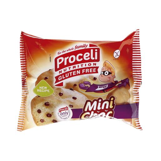 PROCELI bollos mini choc con pequitas de chocolate SIN GLUTEN bolsa 160 gr