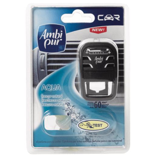 AMBI PUR ambientador para coche aqua aparato + recambio 1 ud