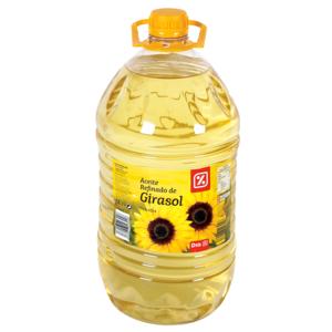 DIA aceite refinado de girasol garrafa 5 lt