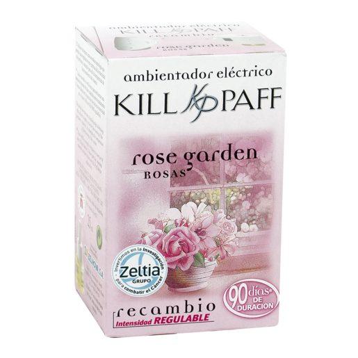 KILL PAFF ambientador eléctrico aroma rosas recambio 1 ud