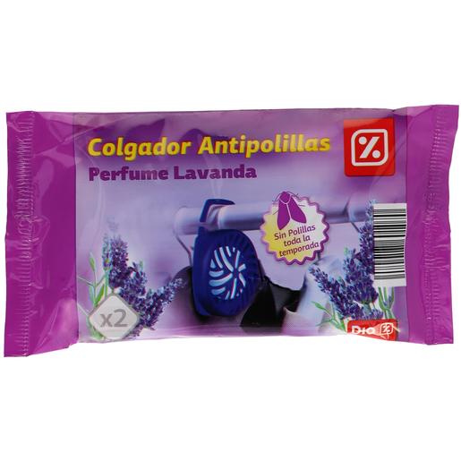 DIA colgador antipolillas perfume lavanda paquete 2 uds