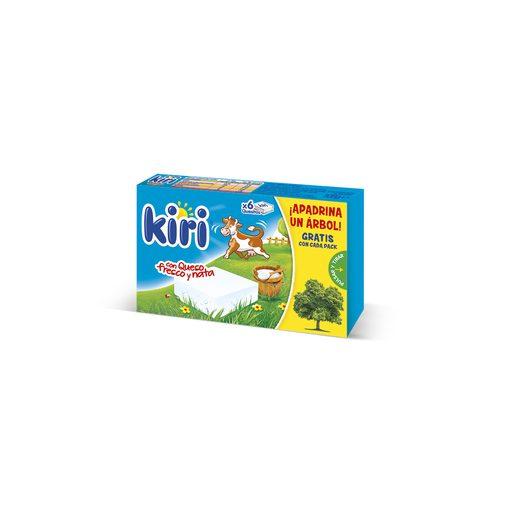 KIRI queso fundido porciones caja 6 unidades 108 gr