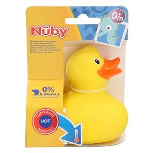 NUBY patito con sensor de temperatura +0 meses 1 ud