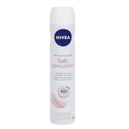 NIVEA desodorante talc sensation spray 200 ml