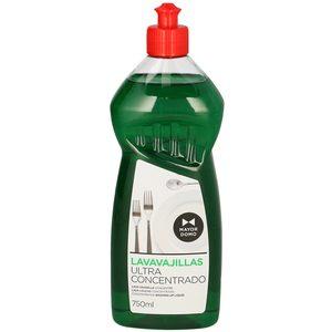 MAYORDOMO lavavajillas mano ultra concentrado botella 750 ml