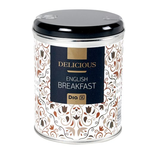 DIA DELICIOUS té english breakfast lata 100 gr