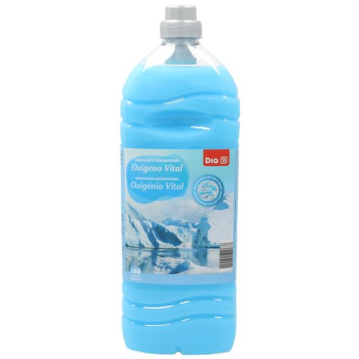 DIA suavizante concentrado con microcápsulas oxigeno vital botella 80 lv
