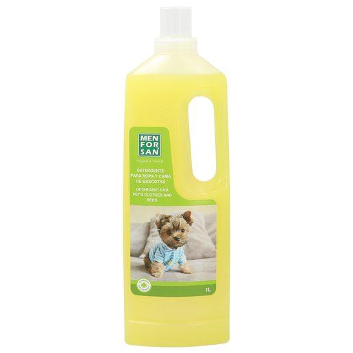 MENFORSAN detergente para ropa y cama de mascotas botella 1 lt