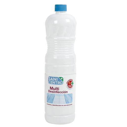 SANICENTRO fregasuelos multi desinfección botella 1.5 lt