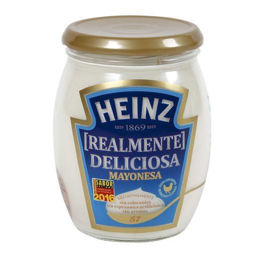 HEINZ mayonesa frasco 460 gr