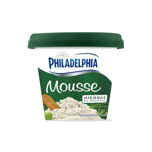 PHILADELPHIA mousse de queso hierbas de provenza tarrina 140 gr