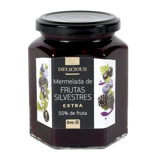 DIA DELICIOUS mermelada de frutas silvestres frasco 320 gr