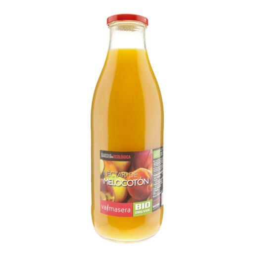 VALMASERA néctar de melocotón botella 1 lt