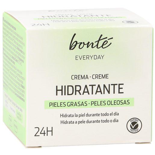 BONTE crema facial hidratante para pieles grasas tarro 50 ml