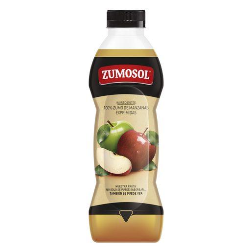 ZUMOSOL zumo exprimido de manzana botella 850 ml