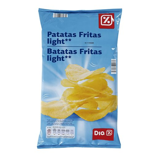 DIA patatas fritas light bolsa 140GR