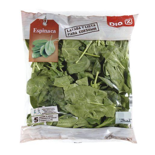 DIA espinacas bolsa 300 gr