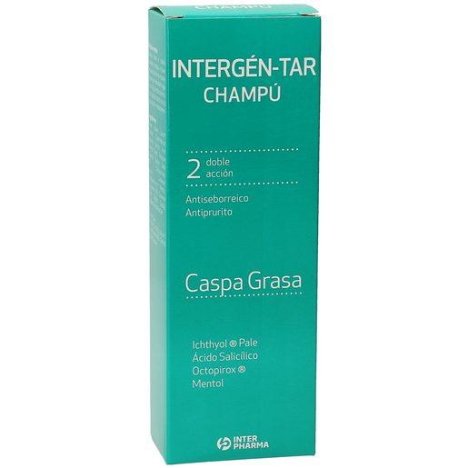 INTERGEN TAR champú anticaspa cabello graso bote 250 ml