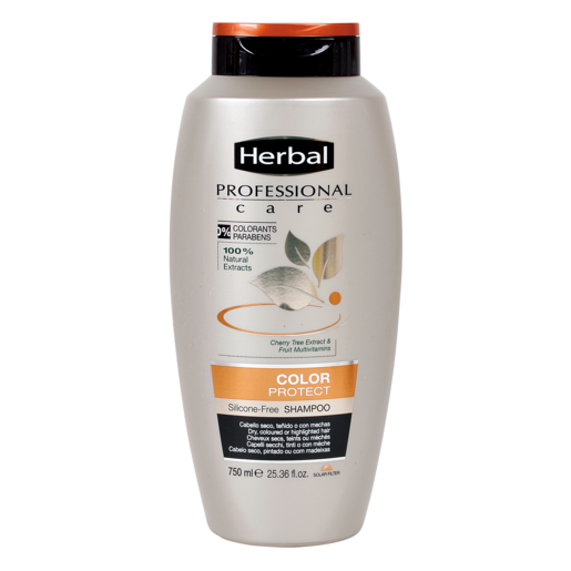 HERBAL Professional care champú color protect cabello teñido bote 750 ml