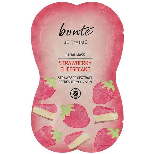BONTE mascarilla facial refrescante fresa sachet 2 x 8 ml