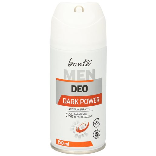 BONTE desodorante dark power antitranspirante spray 150 ml