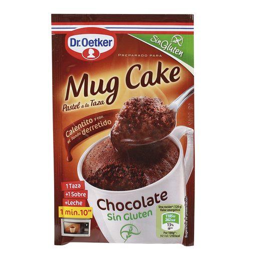 DR. OETKER mug cake chocolate SIN GLUTEN estuche 60 gr