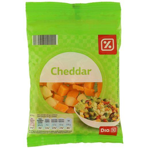 DIA dados de queso para ensalada bolsa 125 gr