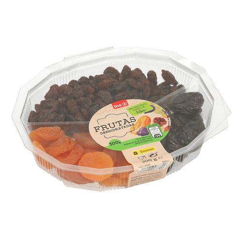 DIA surtido de frutas desecadas tarrina 300 gr