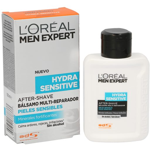 LOREAL Men expert hydra sensitive bálsamo after shave frasco 100 ml