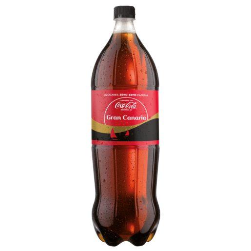 COCA COLA zero sin cafeína botella 2 lt