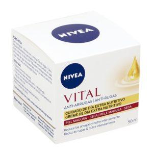 NIVEA Vital crema de día extra nutritivo antiarrugas piel seca tarro 50 ml