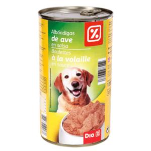 DIA alimento para perros en salsa albóndigas de ave lata 1200 gr
