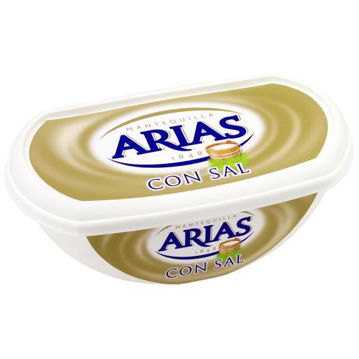 ARIAS mantequilla con sal barqueta 235 gr