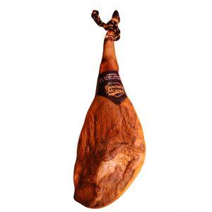 SÁNCHEZ ALCARAZ jamón de cebo Ibérico 50% pieza (peso aprox. 8 Kg)