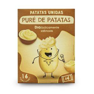 DIA PATATAS UNIDAS puré de patatas caja 500 gr