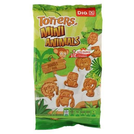 DIA mini galletas animals bolsa 350 gr