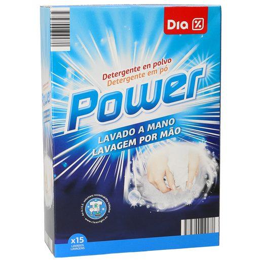 DIA detergente polvo para lavar a mano caja 600 gr