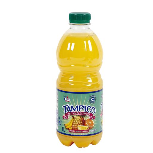 TAMPICO bebida island punch botella 1 lt