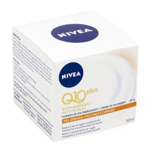 NIVEA Q10 Plus crema de día antiarrugas energizante sfp 15 tarro 50 ml