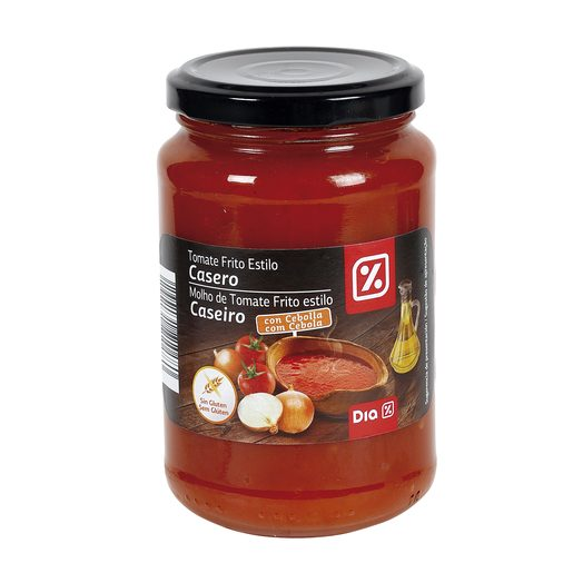 DIA tomate frito con cebolla frasco 350 gr