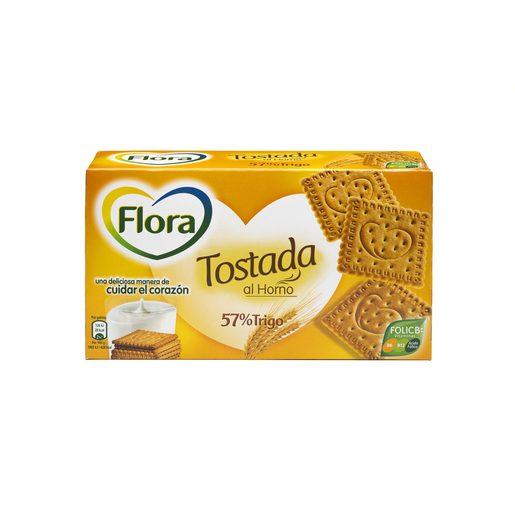 FLORA galleta tostada caja 450 gr